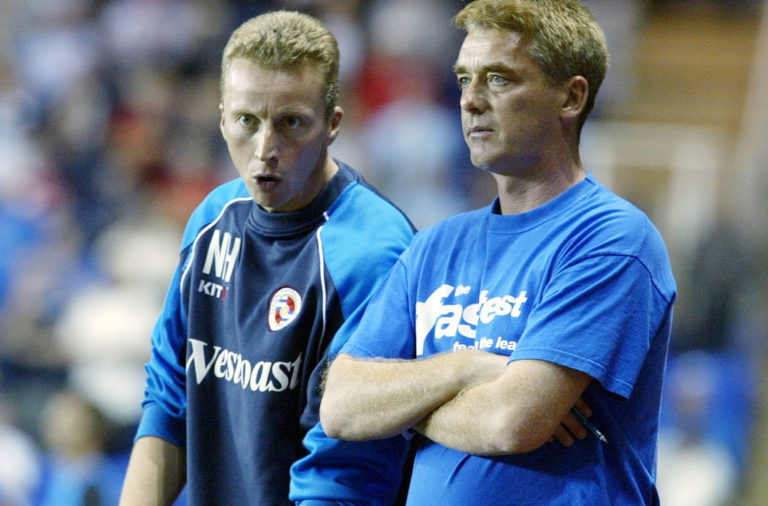 Nick Hammond pictured in his time at Reading