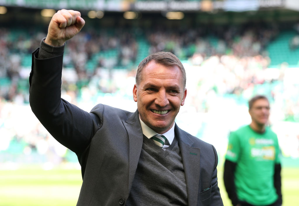Former Celtic boss Brendan Rodgers