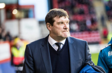 St. Johnstone boss Tommy Wright