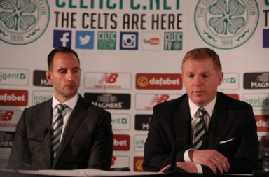 John Kennedy and Neil Lennon