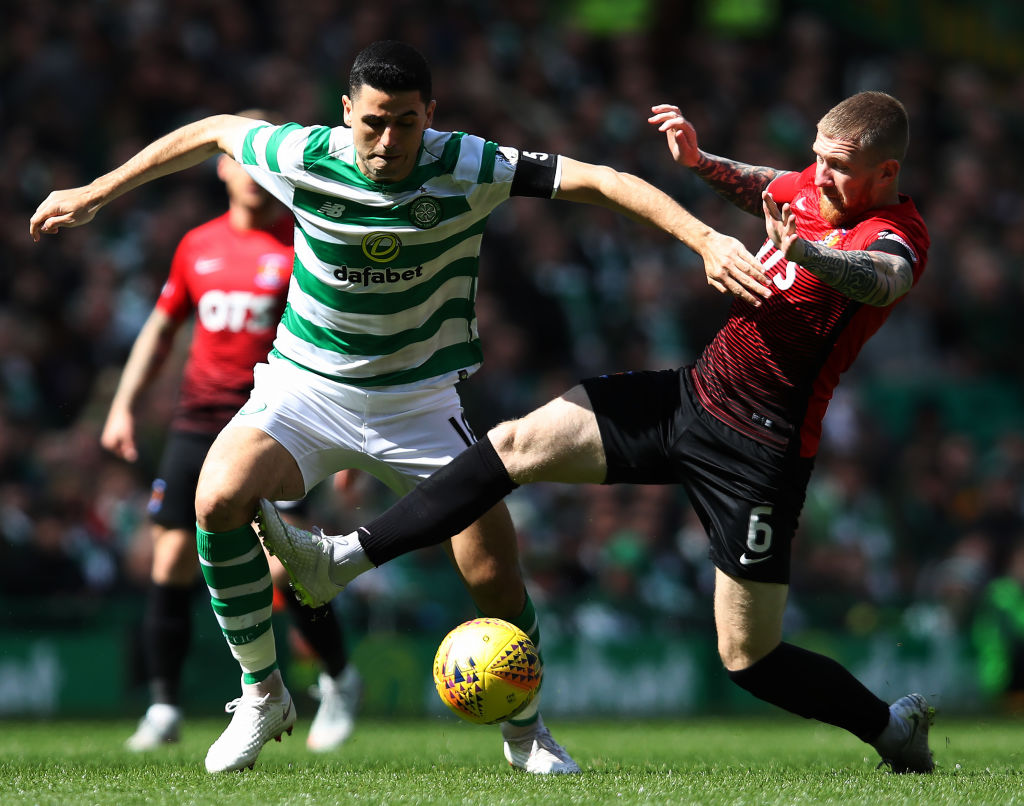 """Another level"" - Twitter reacts as Celtic man makes first league start in two months"