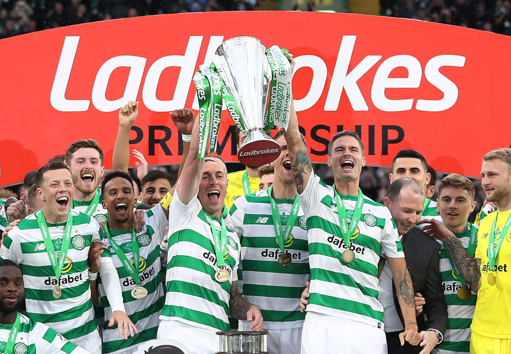 Celtic lift another Premiership title