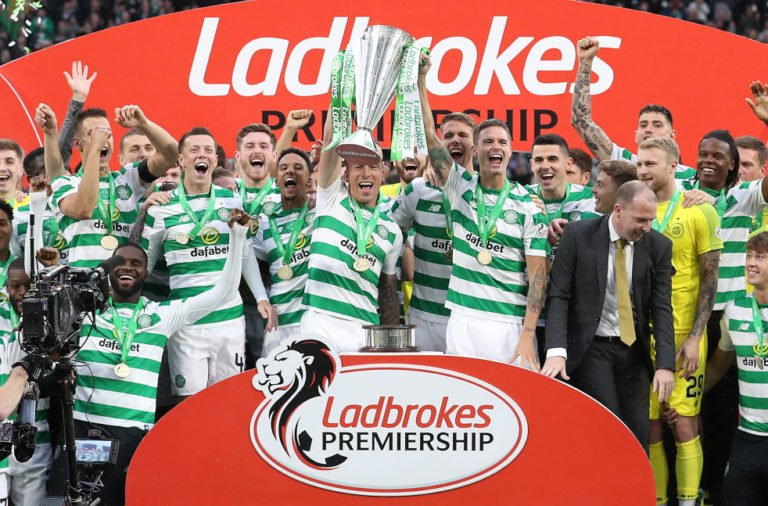 Celtic celebrate another title