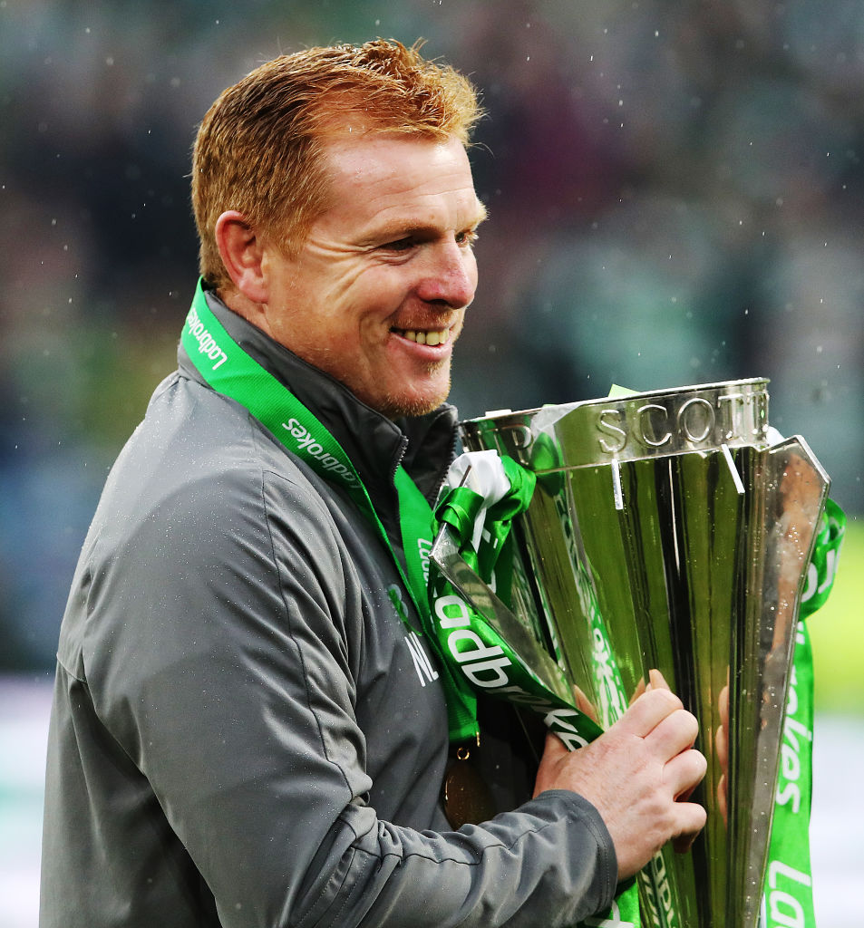 Neil Lennon could have his hands on the trophy again very soon
