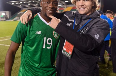 Celtic duo Luca Connell and Jonathan Afolabi