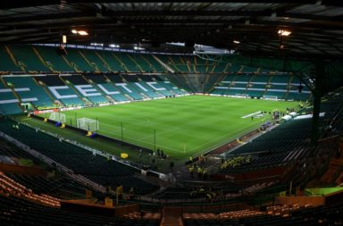 Celtic Park under the lights