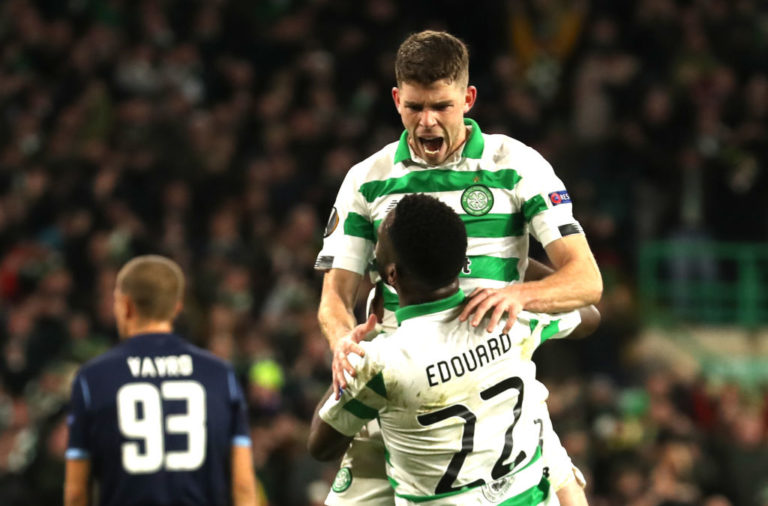 Ryan Christie and Odsonne Edouard