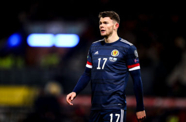 Burke in action for Scotland