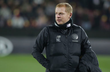 Neil Lennon in Cluj