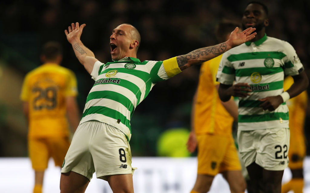 Scott Brown and Celtic will hopefully be back in action before we know it