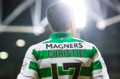 Celtic star Ryan Christie
