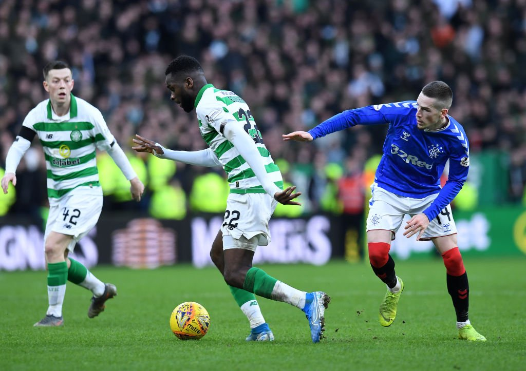 Odsonne Edouard in action against Rangers