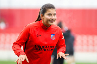 Celtic Womens team have signed Anita Marcos on loan from Atletico Madrid.