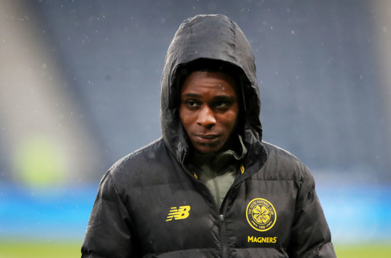 Celtic teenager Jeremie Frimpong