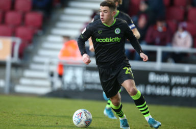 Jack Aitchison, currently on loan at Forest Green Rovers