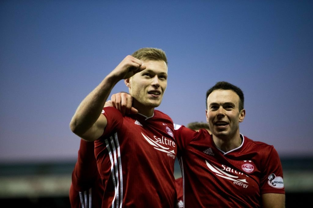 Aberdeen forward Sam Cosgrove