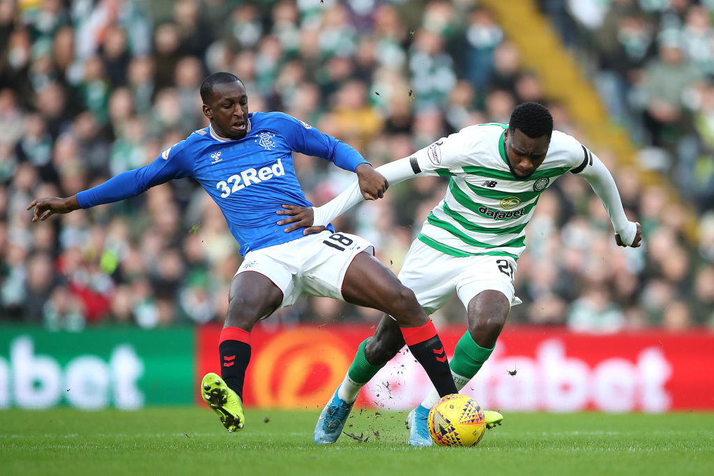Odsonne Edouard against Rangers