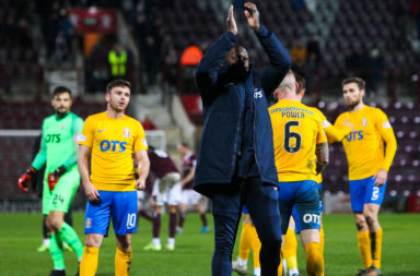 Killie boss Alex Dyer applauds his fans