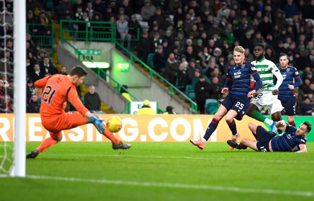 Odsonne Edouard scores against Ross County