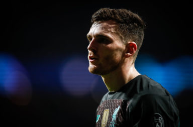 Liverpool defender Andy Robertson