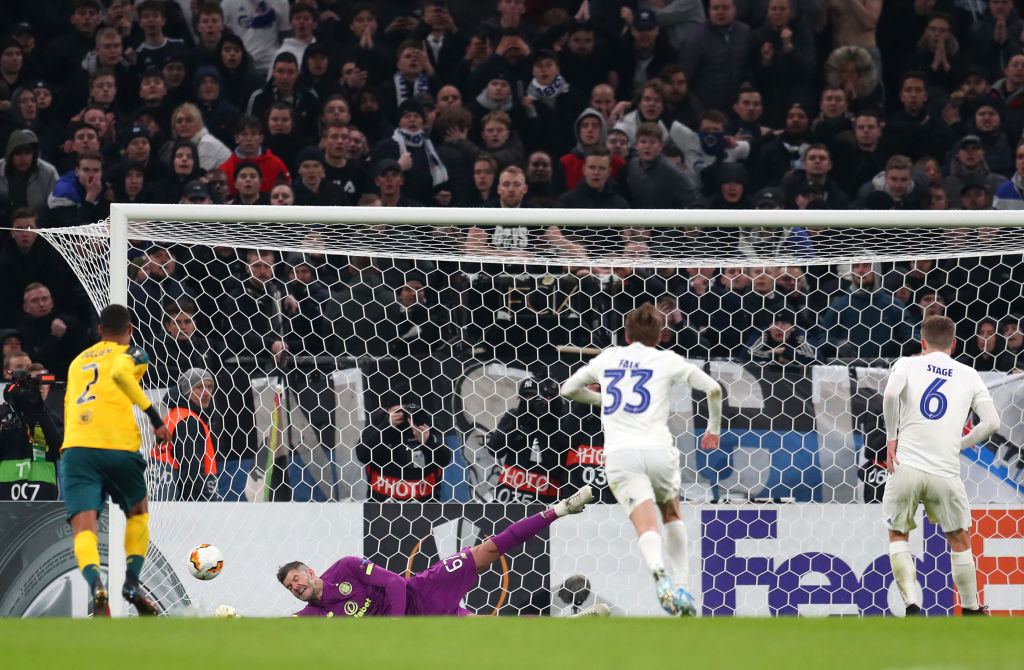 Forster saves Stage's penalty