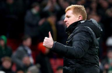 Celtic manager Neil Lennon is to thank for club's goals stat.