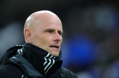 Solbakken during last week's first leg