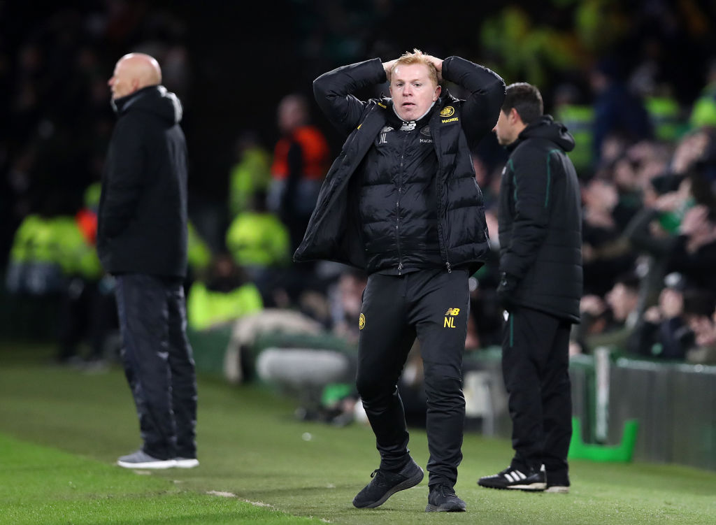 Lennon cut a frustrated figure
