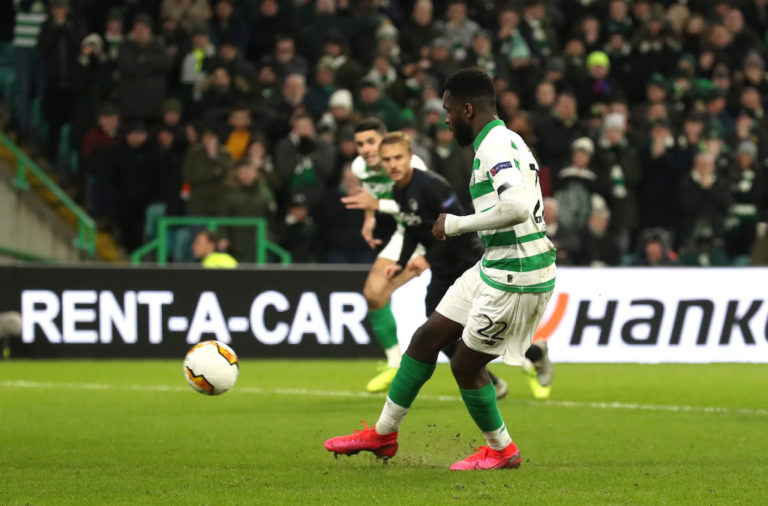 Edouard scored an immaculate penalty