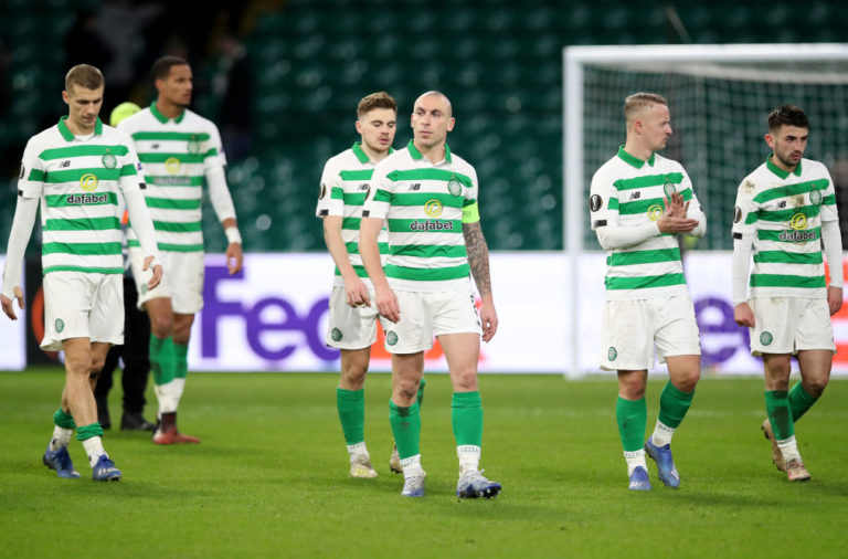 Celtic fell to a defeat against Copenhagen