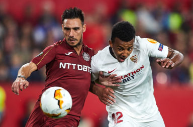 Sevilla gave their all against Cluj