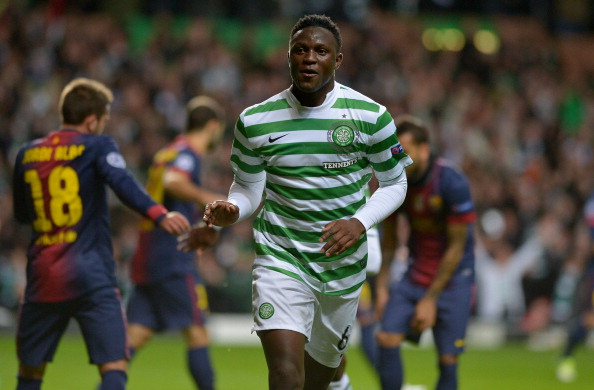 Victor Wanyama opened the scoring against Barcelona