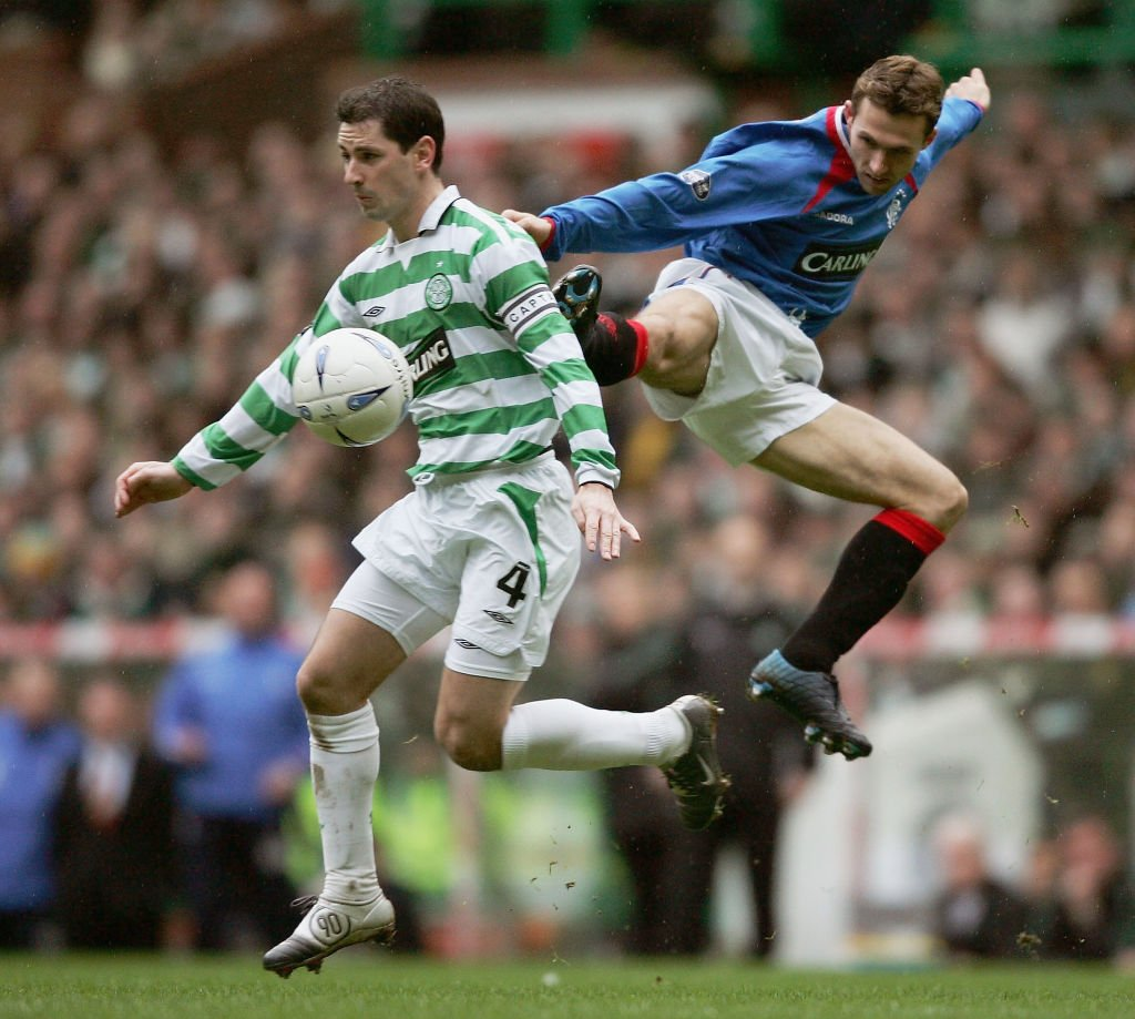 McNamara in action for Celtic