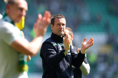 Former Celtic manager Ronny Deila involved in physical confrontation.