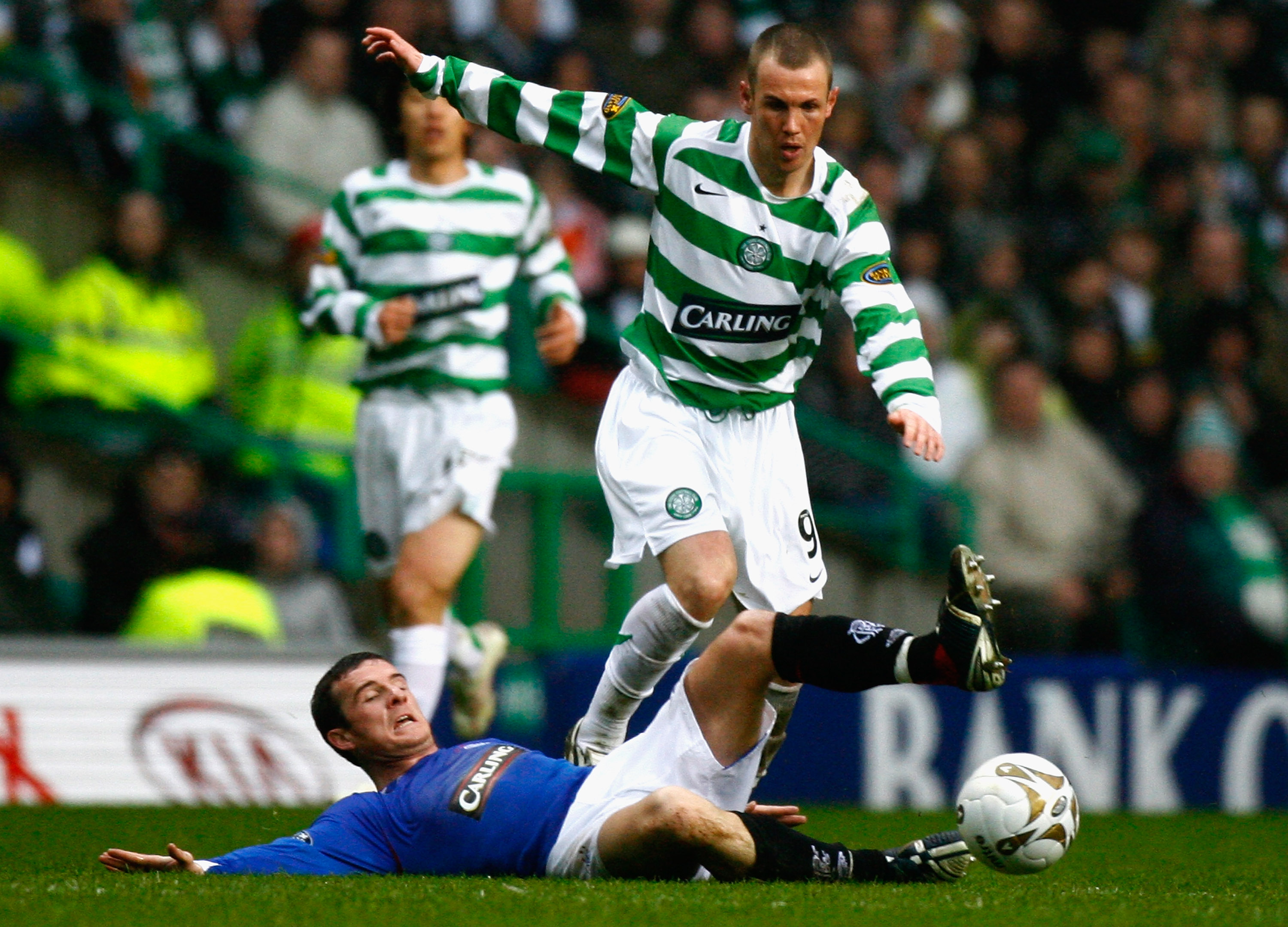 Kenny Miller in action against Rangers