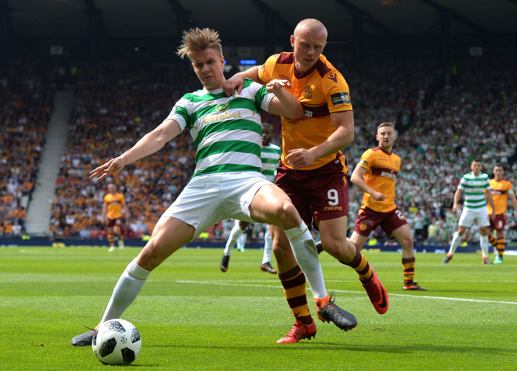Curtis Main against Celtic