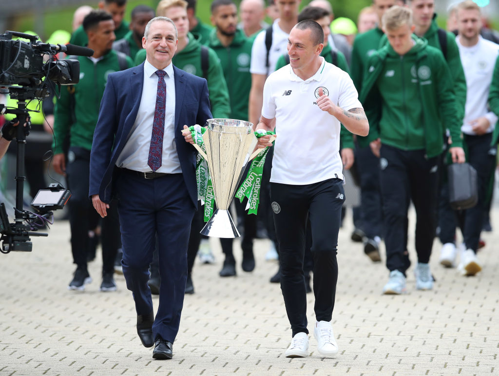 Paul McStay and Scott Brown