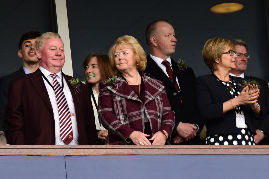 Ann Budge has had to slash wages at Hearts