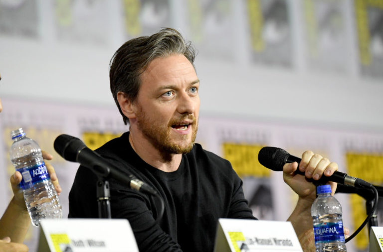Actor and Celtic fan James McAvoy