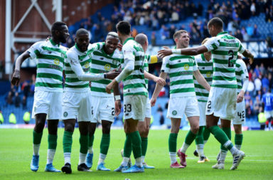 Celtic quietened Ibrox last time