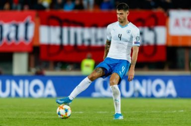 Celtic star Nir Bitton may make the Israel Euro 2020 squad.