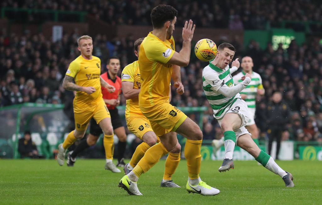 Celtic have found it tough against Livingston