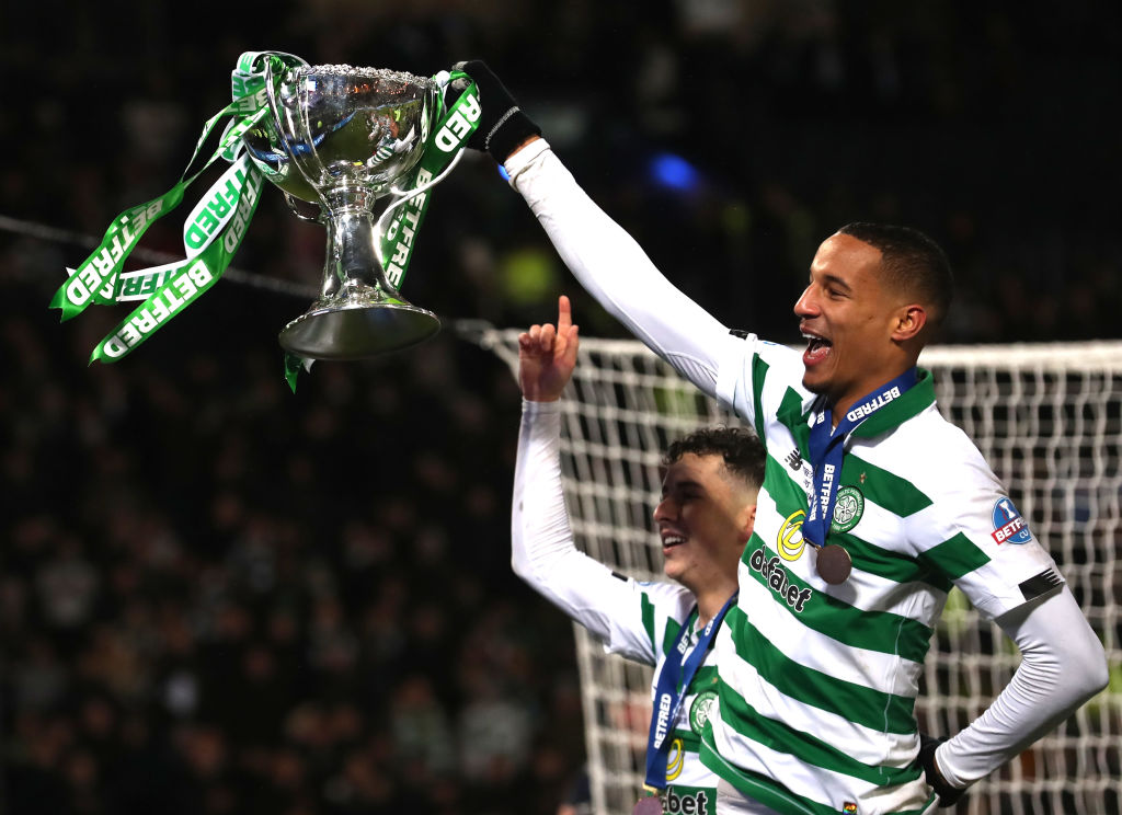 Jullien with the Betfred Cup