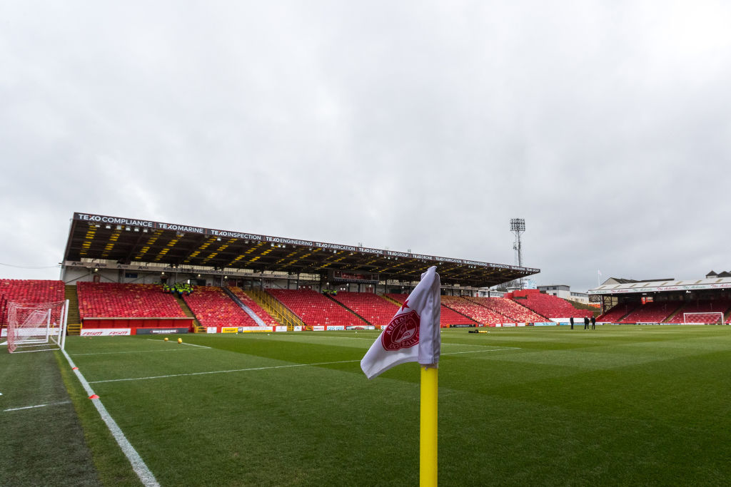 General view of Pittodrie