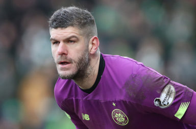 Celtic loan keeper Fraser Forster