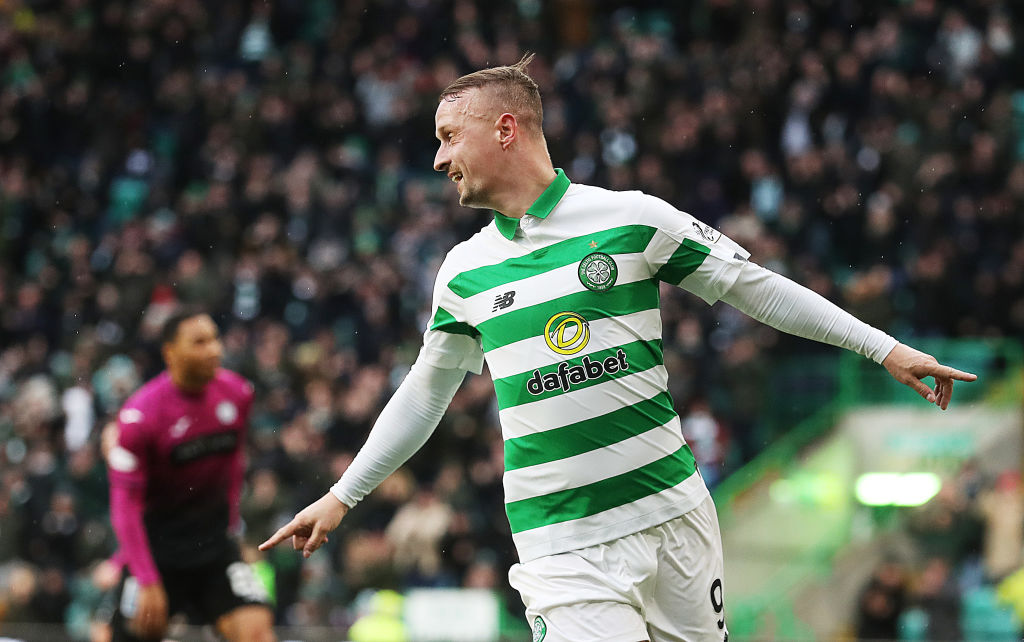 Griffiths had a day to remember against St. Mirren