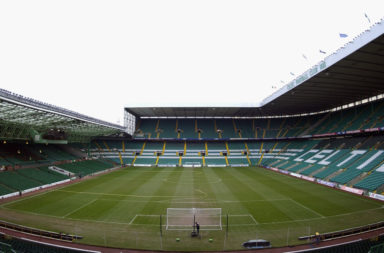 The three stripes at Celtic Park in 2003