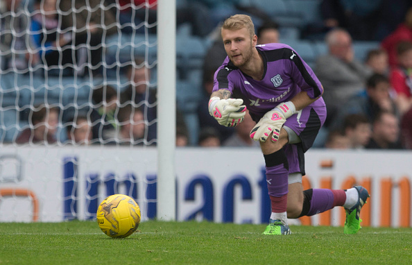Scott Bain during his Dundee days