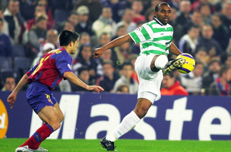 Didier Agathe up against Barcelona