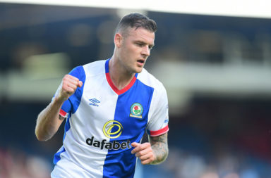 Stokes playing for Blackburn